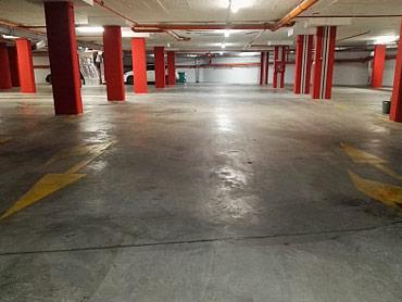 Ръчно и машинно поичистване на подземен паркинг